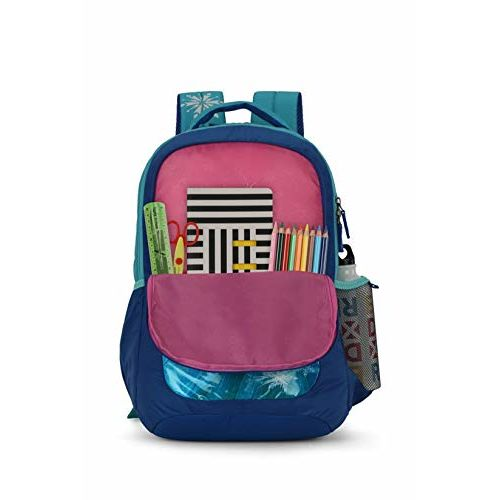Skybags Frozen 03 32 Ltrs Blue Casual Backpack (Frozen 03)