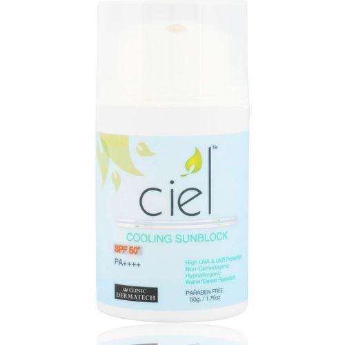 Ciel Cooling Sunblock SPF 50 (50 gm) - SPF 50 PA++++(50 g)