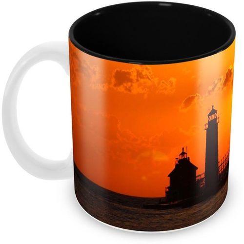 Tuelip SK_Gp-IC-LighthouseInSunset Ceramic Mug(350 ml)