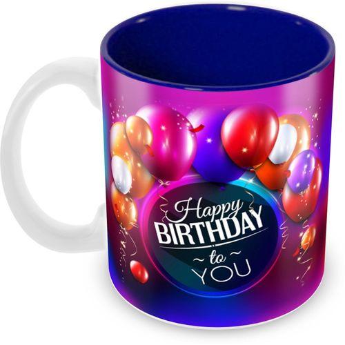 Tuelip Printed Happy Birthday To You Tea & Coffee Ceramic Mug(350 ml)