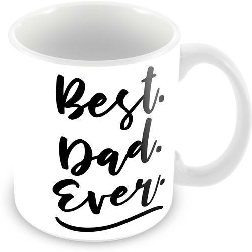 Tuelip Printed Best Dad Tea & Coffee Ceramic Mug(350 ml)