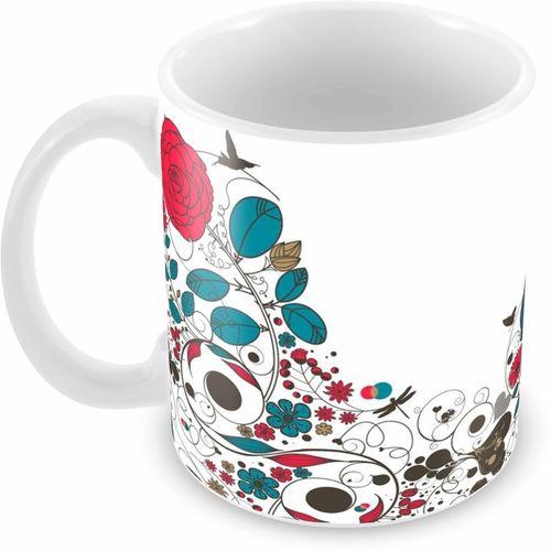 Tuelip Printed Beautiful Art Designs Tea & Coffee Ceramic Mug(350 ml)