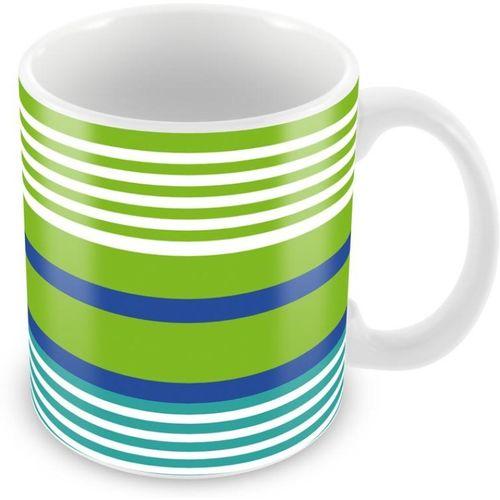 Tuelip Beautiful Abstract Multiple Line Colour Printed For Tea And Coffee Ceramic Mug(350 ml)