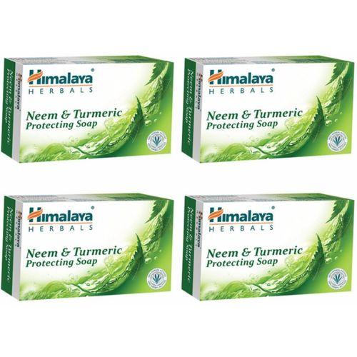 Himalaya Neem & Turmeric Soap(500 g, Pack of 4)