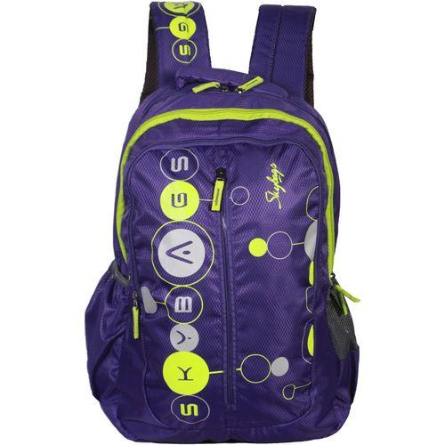 Skybags Ronan Plus 02 Backpack (Purple) 22 L Backpack(Purple)