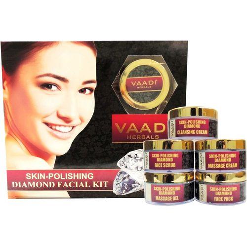 Vaadi Herbals Skin-polishing Diamond Facial Kit 270 g(Set of 5)