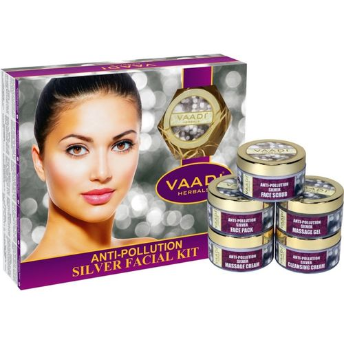 Vaadi Herbals Anti-Pollution Silver Facial Kit 270 GM 270 g