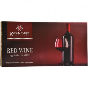 kaya care Red Wine Age Reflect Facial Kit 80 ml