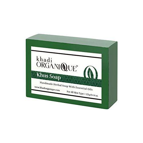 Khadi Organique Khus Herbal Soap-125Gms