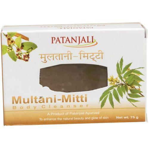 Patanjali Multani Mitti Body Cleanser(75 g)