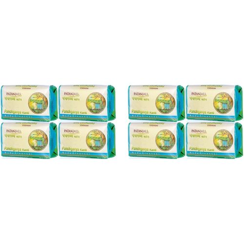 Patanjali Panchgavya Soap(600 g, Pack of 8)