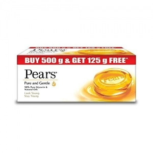 Pears Pure and Gentle with Free Pears ,125g (Pack of 4)