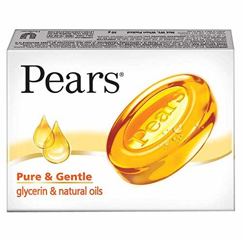 Pears Pure and Gentle Bathing Bar, 50g