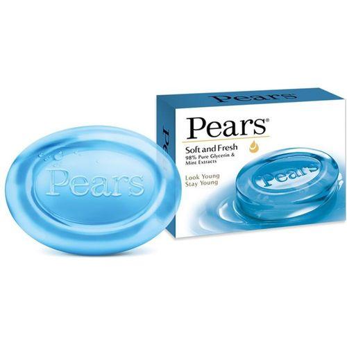 Pears Soft and Fresh Bathing Bar(125 g)