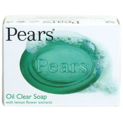 Pears Oil clear Soap with lemon flower Extracts(125 g)