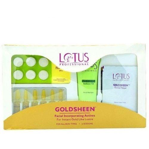 Lotus Professional Goldsheen Facial Incorporating Avtives 100 g(Set of 4)