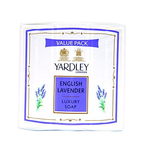 Yardley English Lavender Luxury Soap, 100g (Pack of 4)