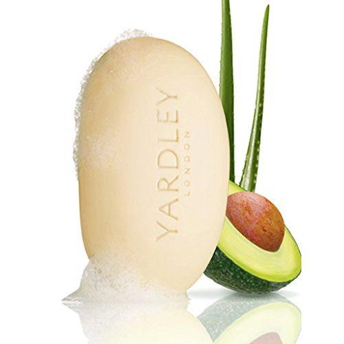 Fresh Aloe with Cucumber Essence Bar Soap Soap Unisex by Yardley, 4.25 Ounce