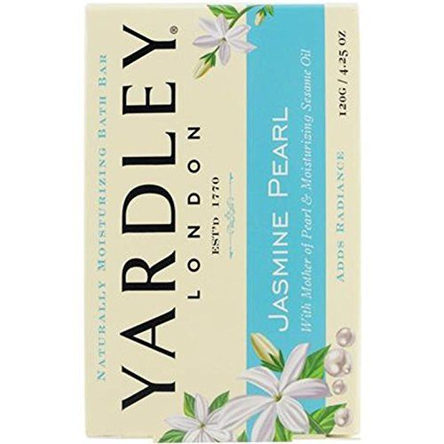 Yardley Of London Jasmine Pearl Bath Bar Soap 4.25 Oz.