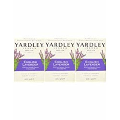 Pack Of 24: Yardley 5581663.2X24 English Lavender With Essential Oils Soap Bar (Pack Of 24)