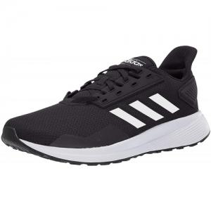 ADIDAS DURAMO 9 SS 19 Black Mesh Lace Up Running Shoes