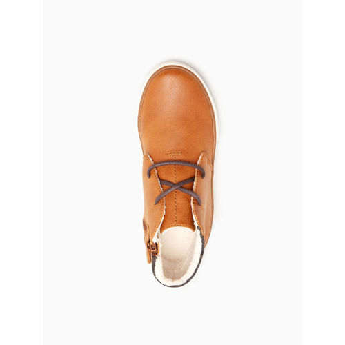 next Boys Tan Brown Solid Sneakers