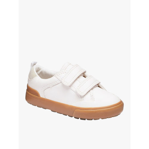 next Boys White Regular Slip-On Sneakers
