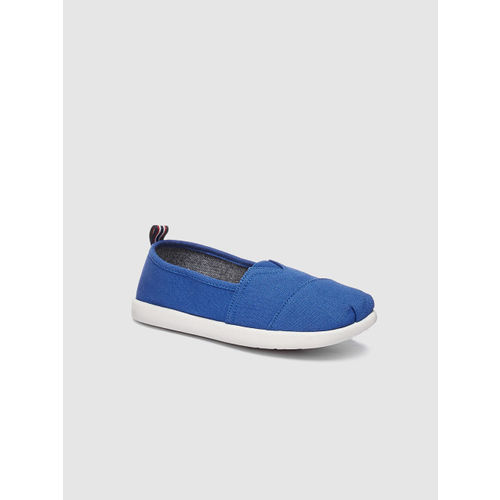 next Boys Blue Slip-On Sneakers