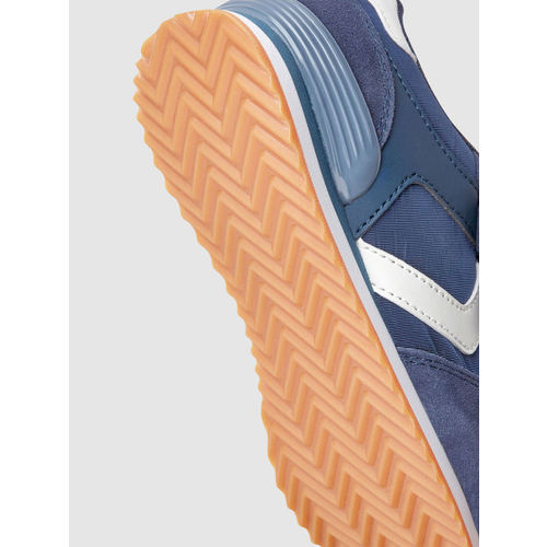 next Navy Blue Synthetic Leather Regular Sneakers