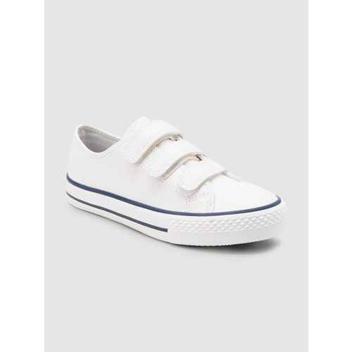 next Boys White Sneakers