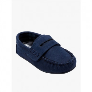 next Boys Blue Slip-On Sneakers