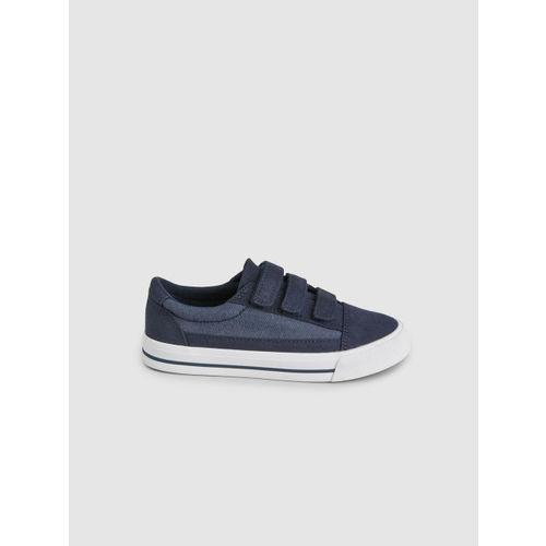 next Boys Navy Blue Colourblocked Sneakers