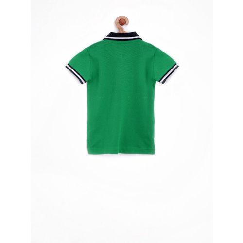 Gini and Jony Boys Green Polo T-shirt