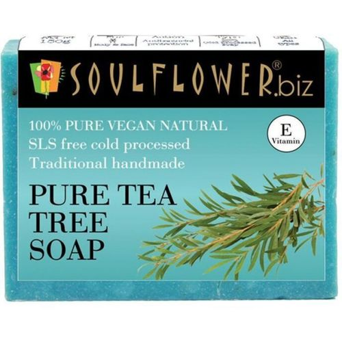 Soulflower Pure Tea Tree soap(150 g)