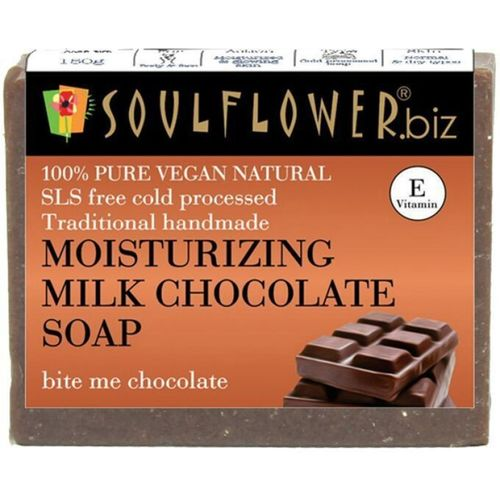 Soulflower Moisturizing Milk Chocolate soap(150 g)