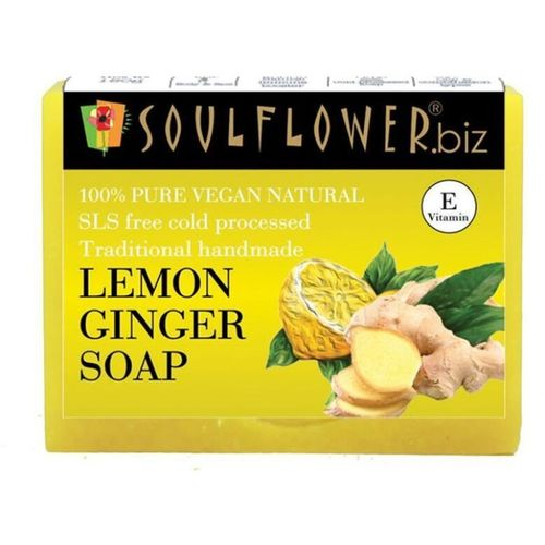 Soulflower Lemon Ginger soap(150 g)