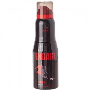Engage Man Deodorant, Rush, 150ml / 165ml (Weight May Vary)