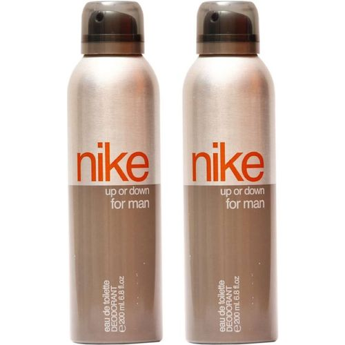 Nike Up Or Down Pack Of 2 Deodorant Spray - For Men(400 ml, Pack of 2)