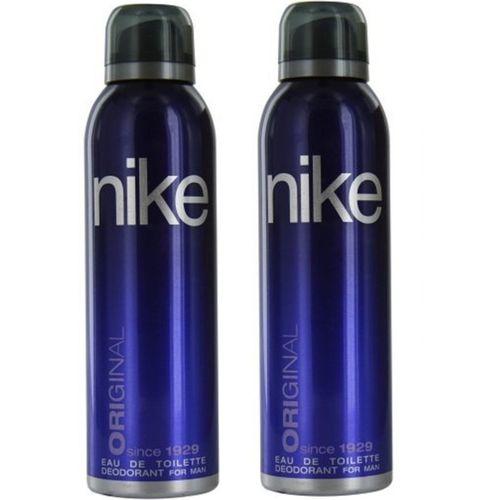 Nike Man Original Deodorant Spray for Men 200ML Each (Pack of 2) Deodorant Spray - For Men(400 ml, Pack of 2)