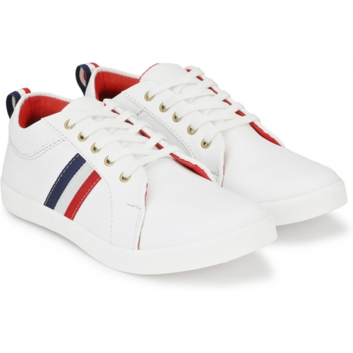 WHITE FCA SHOES Sneakers For Men  (Multicolor)