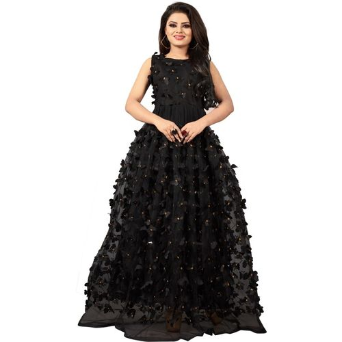 RANGRASIYA CORPORATION Ball Gown(Black)