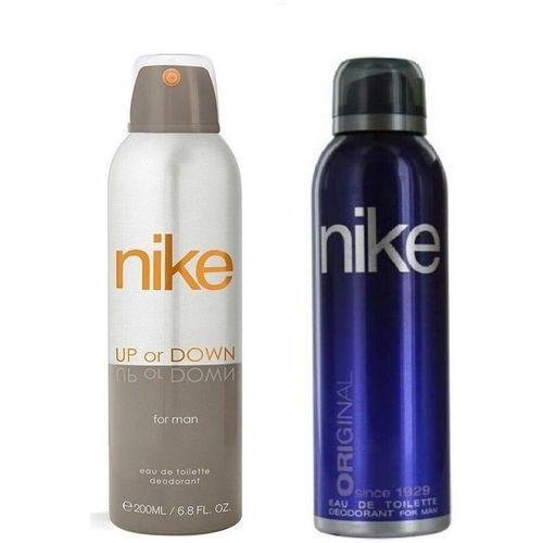 Nike Up or Down Original Body Spray - For Men(400 ml, Pack of 2)