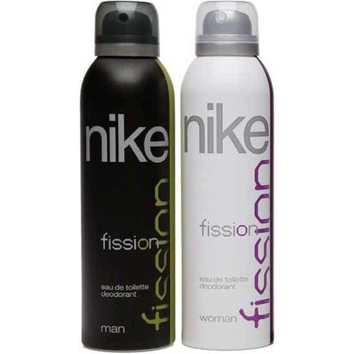 Nike Fission Body Spray - For Men(400 ml, Pack of 2)