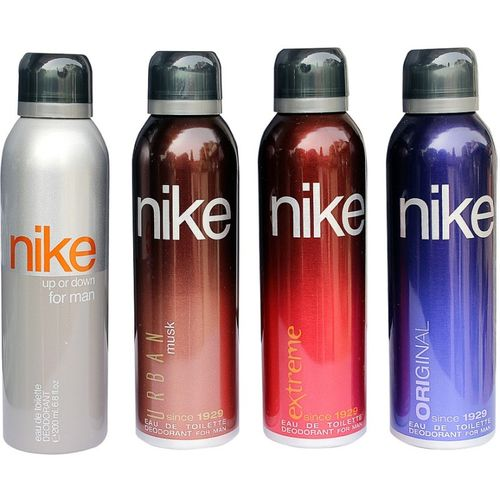 Nike Set Of 4 Deo Combo For Men Combo Set(Set of 4)