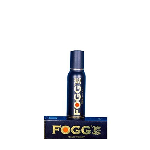 Fogg Fresh Deodorant Woody Black Series For Men, 120ml