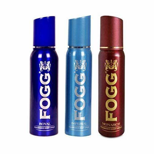 Fogg Royal & Imperial & Monarch Deodorant For Men(Pack of 3)(100gms/120ml each)