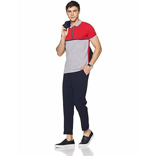 United Colors of Benetton Men's Solid Regular Fit Polo