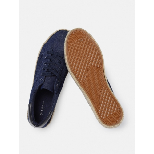 Mast & Harbour Navy Blue Regular Slip-On Sneakers