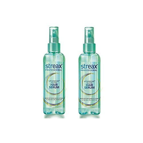 Streax Pro Vitariche Gloss Hair Serum, 100ml - Pack of 2