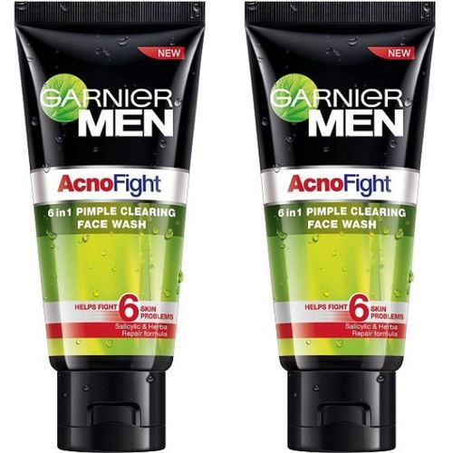 Garnier pack of 2 AcnoFight Face Wash(200 g)
